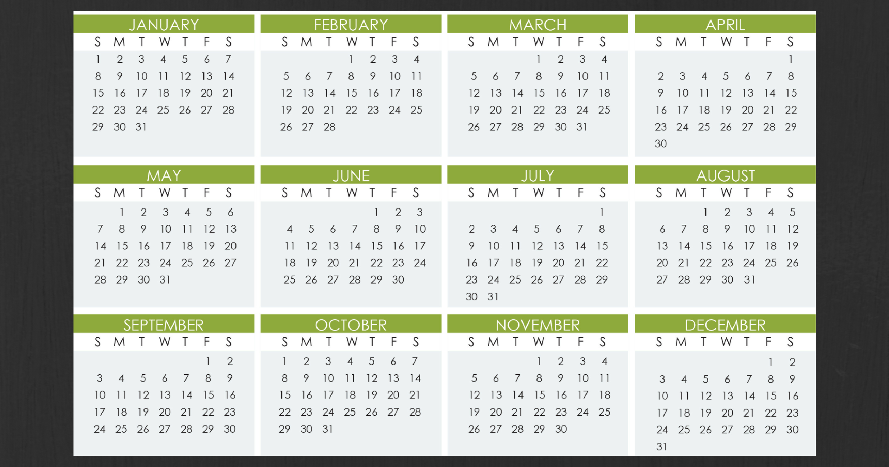 Stay Organized Next Year with Our 2017 Calendar and Tax Deadline Guide