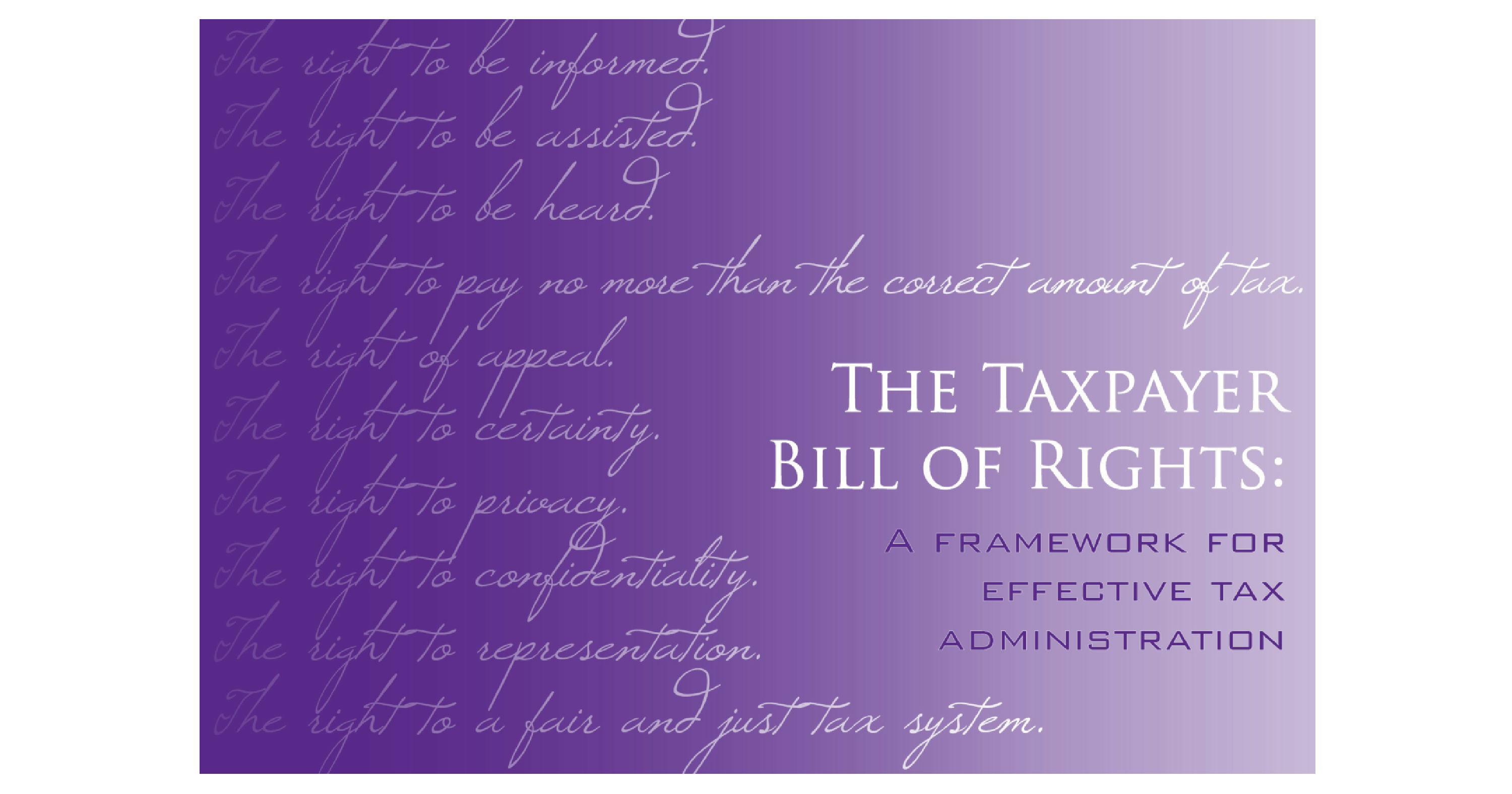 If You're Dealing with the IRS, Don't Forget Your Taxpayer Bill of Rights