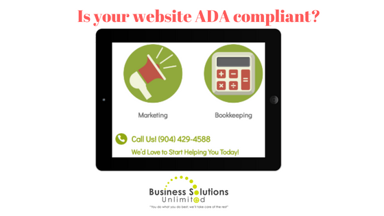 Your Business Website: Is It ADA Compliant or a Potential Lawsuit Dilemma?